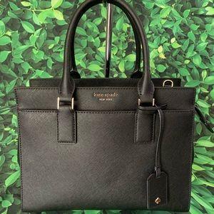 Medium satchel leather bag Cameron Kate spade